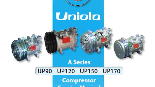 Unicla A series Compressor Service Manual (Cat no. M1003)