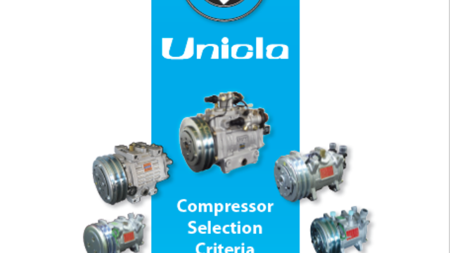 Compressor Selection Criteria